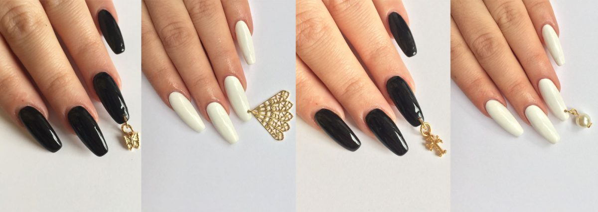 Nail Piercing Charm Per Unghie Manicure Art
