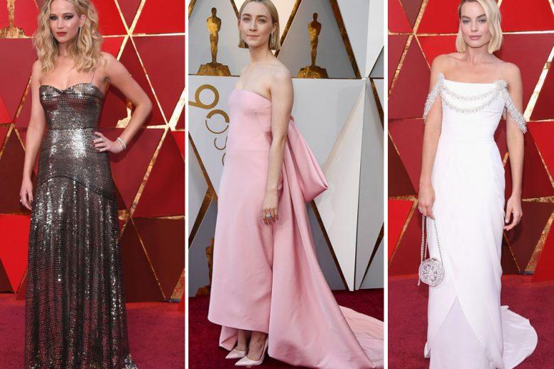 Oscar 2018: gli abiti delle star