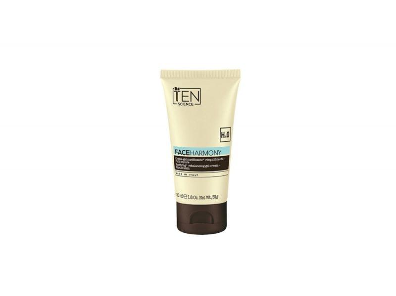 pelle-mista-come-riconoscerla-e-i-prodotti-consigliati-per-una-routine-adeguata-TeN Science_Face Harmony-crema-gel-purificante-riequilibrante-pelli-impure