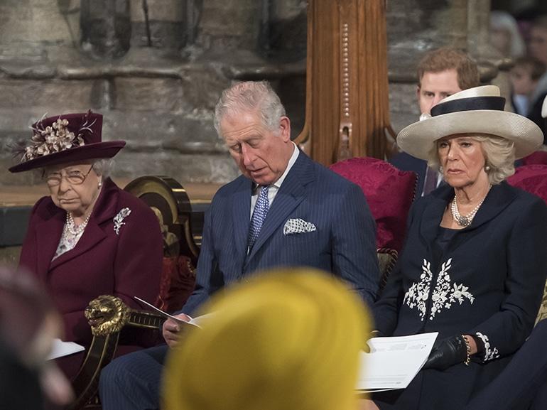 regina elisabetta carlo camilla