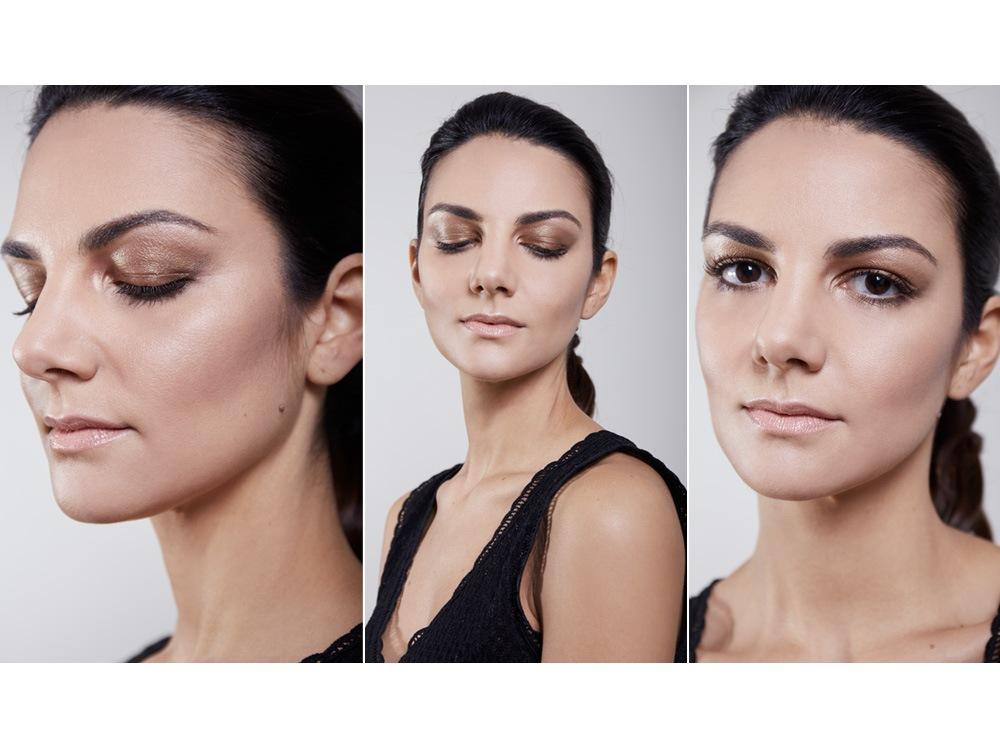 From backstage to beautycase: lo smokey eyes metallico di Giorgio Armani interpretato da Claudia Ciocca
