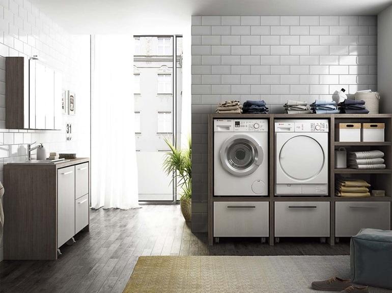 Vano Lavanderia In Bagno : Come ricavare in casa lo spazio per la lavanderia grazia.it