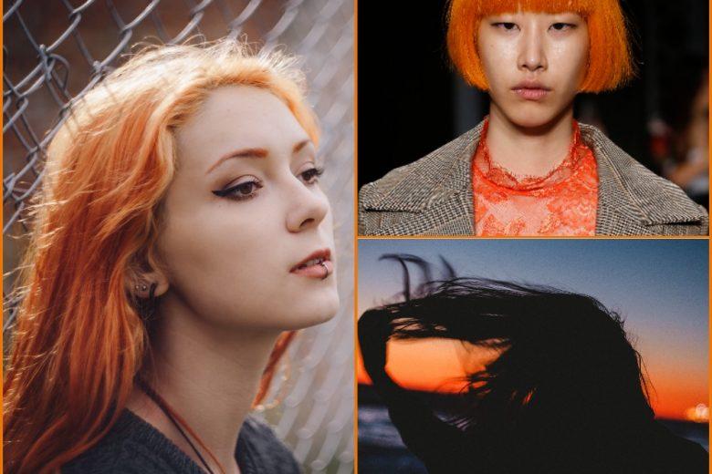 Tequila sunrise hair: i capelli arancioni del momento