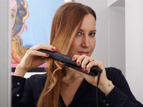 Piastra capelli mossi ghd
