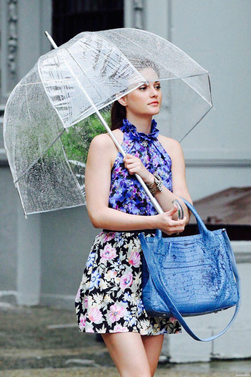 Blair Waldorf pioggia