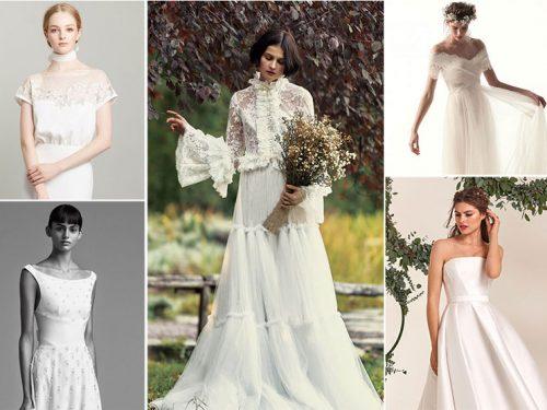 buy online 7f86a 5450c Abiti da sposa: 50 modelli per il 2018 dagli atelier più famosi