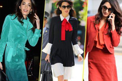 Amal Clooney: 7 consigli di stile per vere