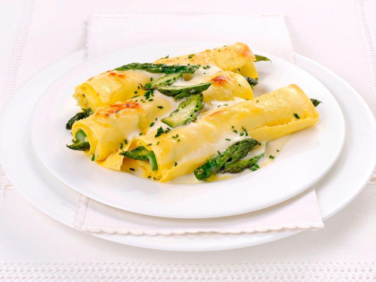 Cannelloni agli asparagi e patate