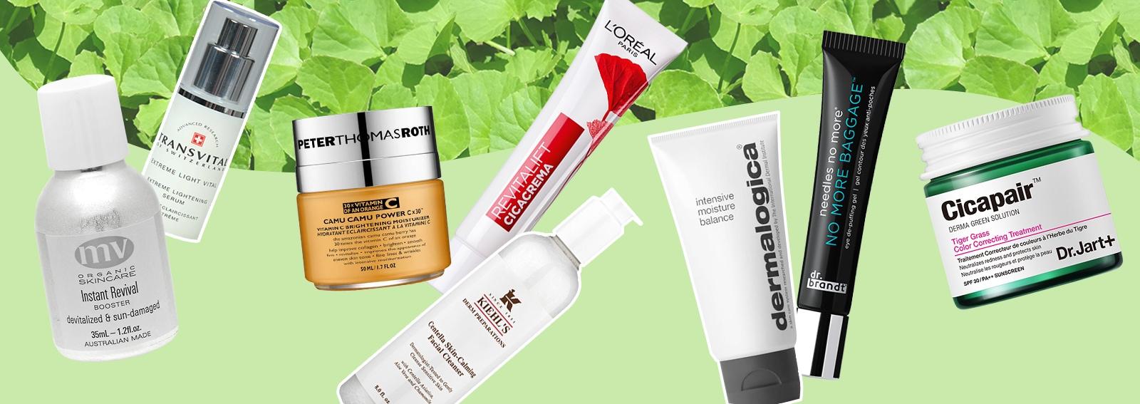 Centella asiatica: la nuova tendenza per la cura della pelle del viso