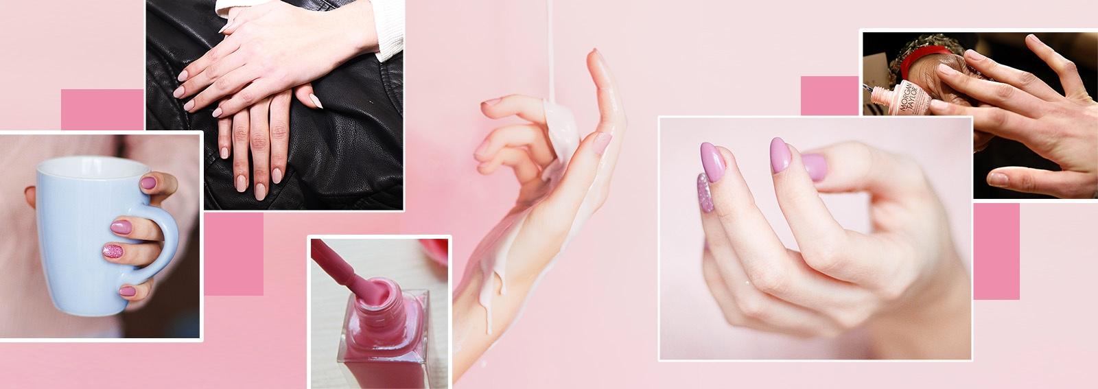 Nail art rosa antico: le ispirazioni più belle copiare