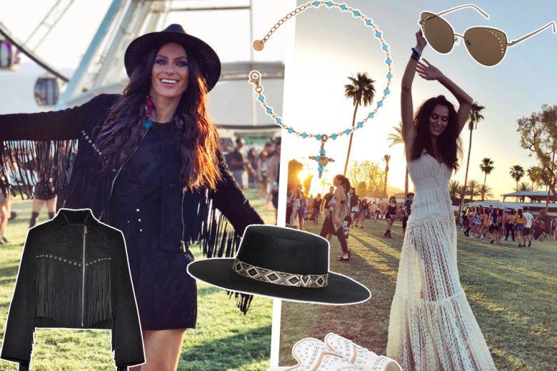 Il Coachella style di Paola Turani: il look da festival si fa in due!