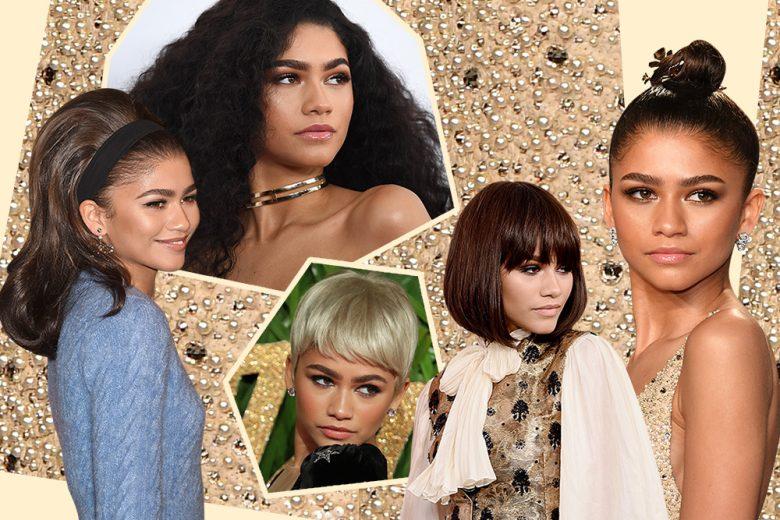I migliori hairlook di Zendaya: i tagli di capelli e acconciature dell'attrice e cantante