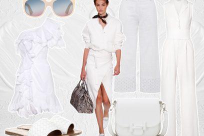 Tutte in Bianco: il total white per la Primavera Estate 2018