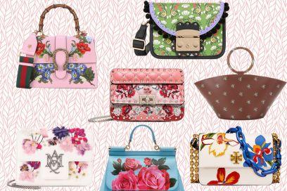 Flower bags: le più cool e romantiche di stagione