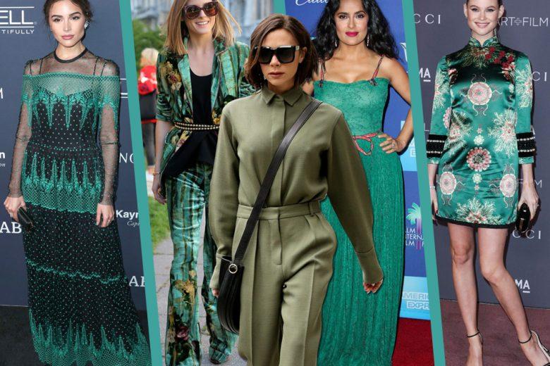 Green carpet: quando le celeb scelgono il verde