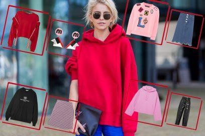 6 modi per indossare la felpa questa Primavera