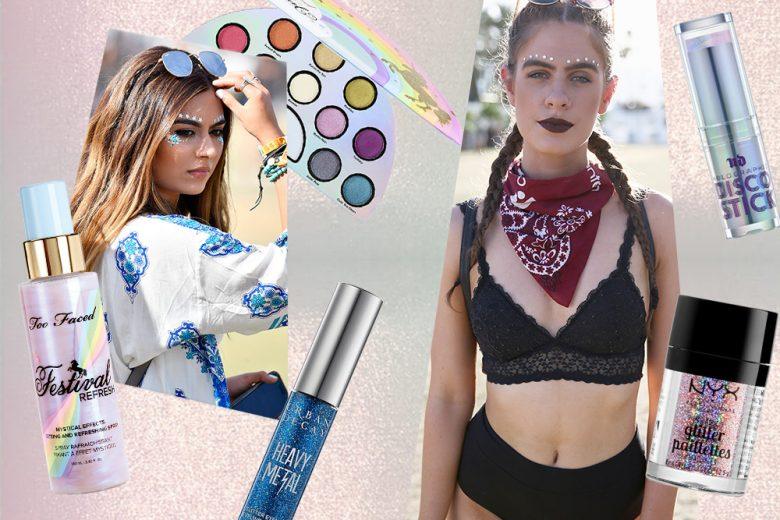Trucco da festival: tutti i prodotti per un beauty look stile Coachella