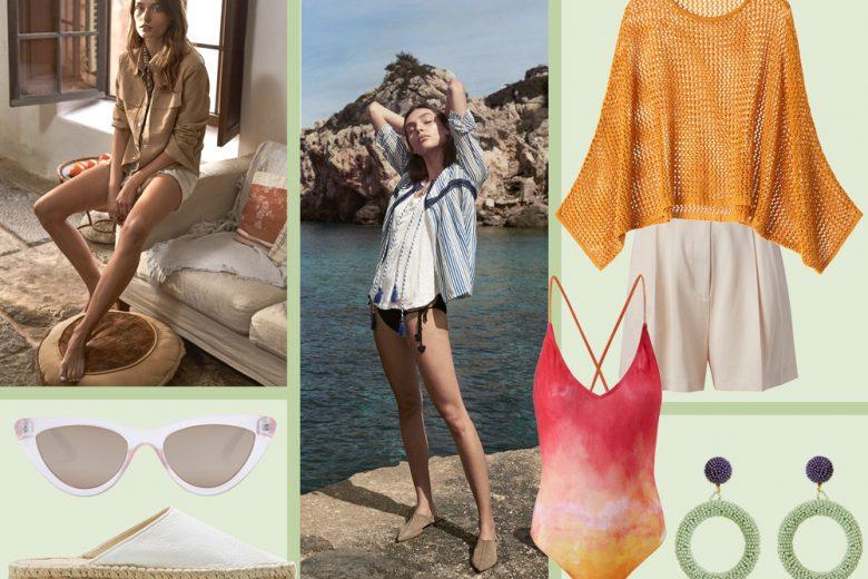 Lino e raffia: i protagonisti dell'estate 2018 di Mango