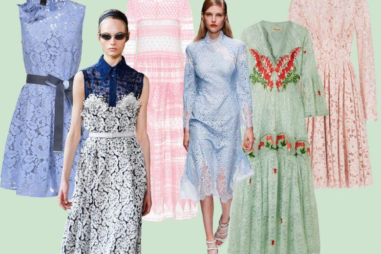 Spring lace: gli abiti di pizzo perfetti (anche) per le cerimonie