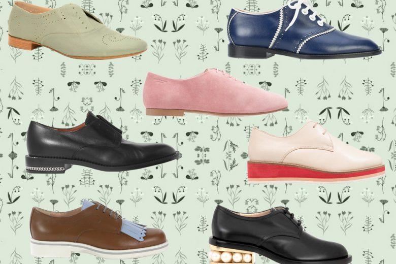 Scarpe stringate: i modelli più cool della Primavera 2018