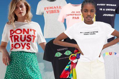 T-shirt con le scritte: i modelli più cool da avere assolutamente