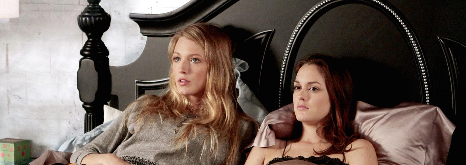Gossip girl coppia letto
