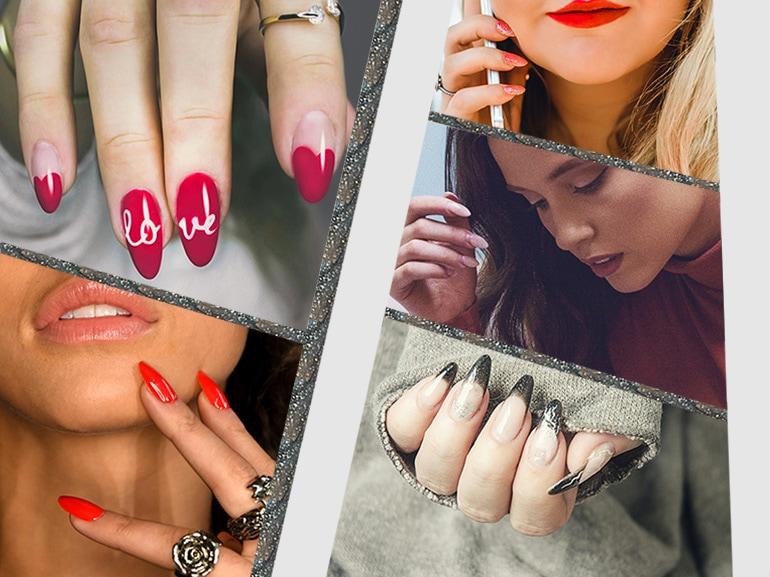 Unghie a mandorla: la forma più cool per la manicure del momento