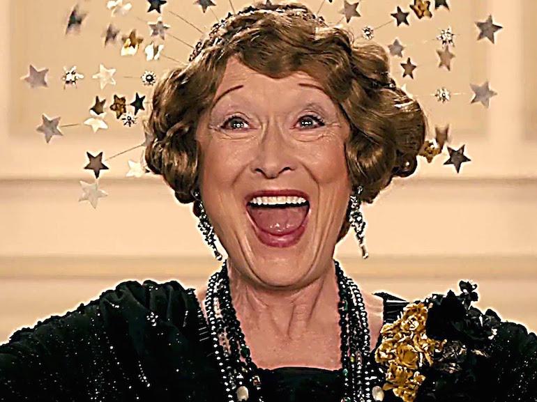 Maryl Streep felice