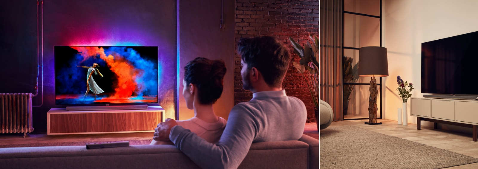 Regole da seguire per posizionare correttamente il tv PHILIPS TV OLED 973 nuovo modello 2018 tv ultrasottile connesso smart tv google assistant DESK