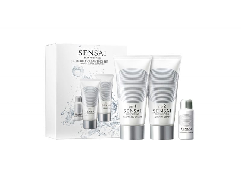 Sensai Silky Purifying – Double Cleansing Set