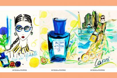 Acqua di Parma colora di Blu Mediterraneo la Rinascente Design Week