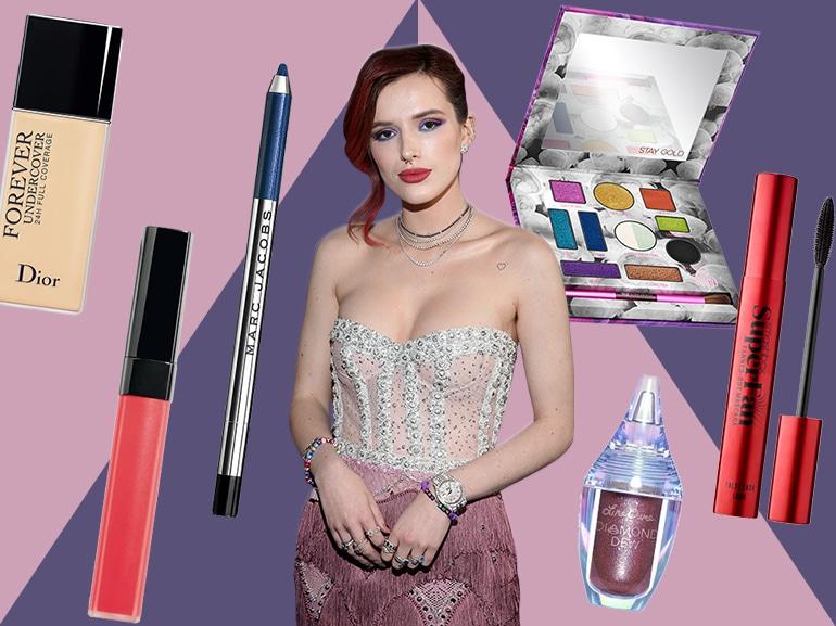 bella thorne copia il look make up COVER MOBILE