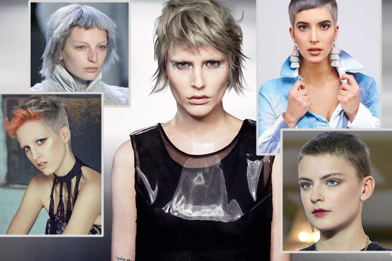 Capelli grigi corti: i tagli più belli per un hairlook silver