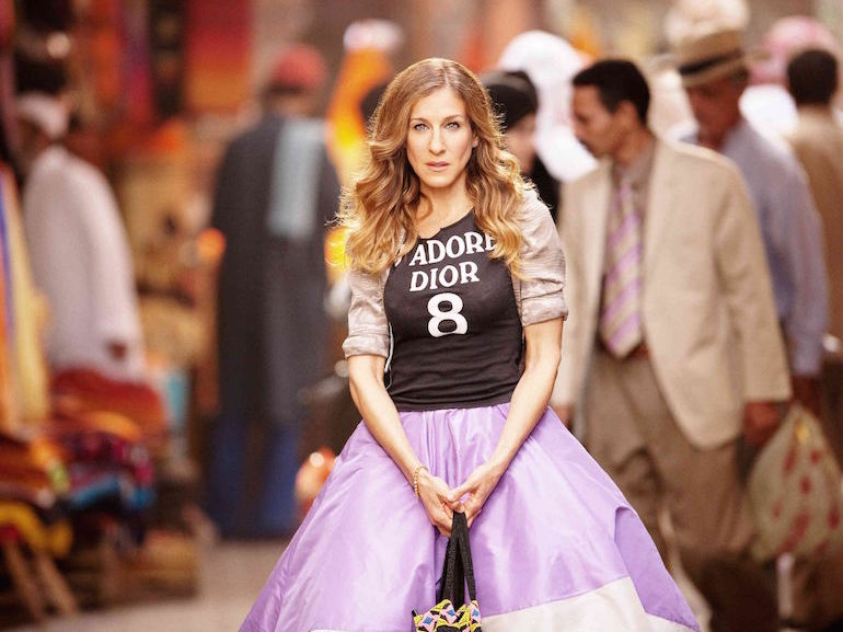 carrie bradshaw gonna rosa