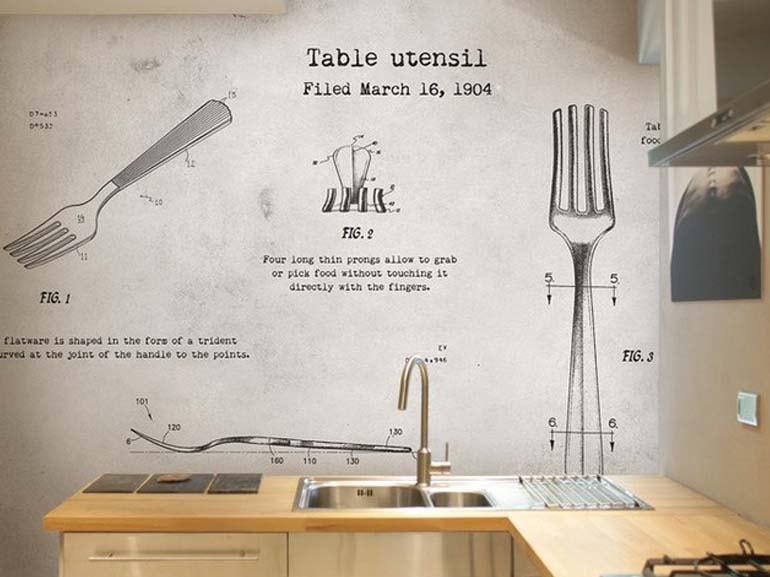 Lavabile Carta Da Parati Cucina Moderna.Come Scegliere La Carta Da Parati 6 Regole Per Non Sbagliare