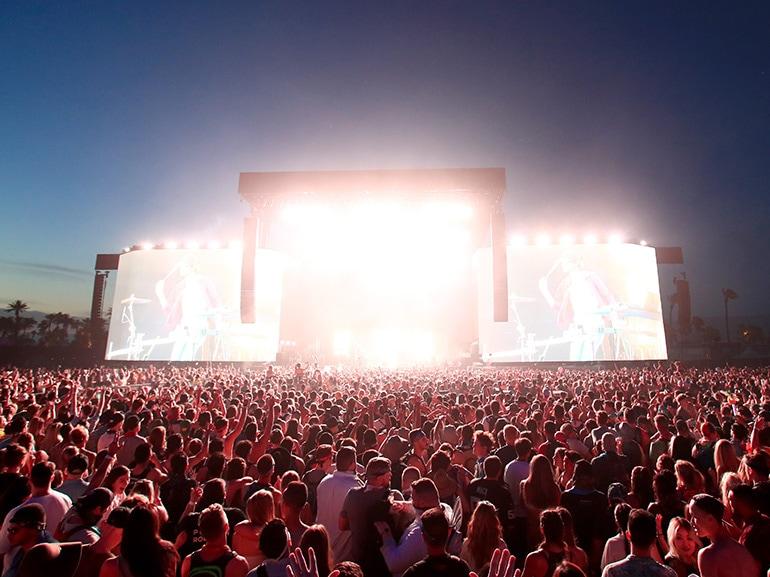coachella palco