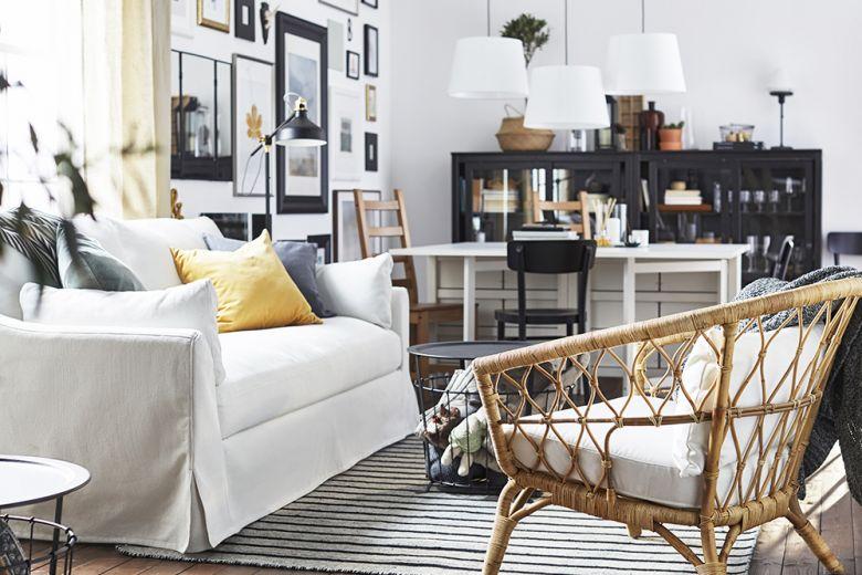 10 idee originali per arredare la prima casa con IKEA