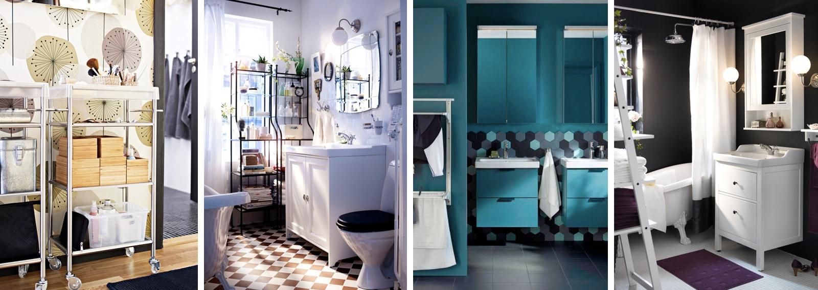 10 idee per arredare il bagno con ikea - Ikea idee bagno ...