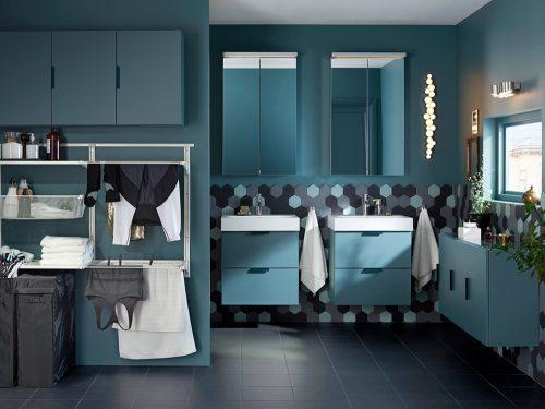10 idee per arredare il bagno con ikea grazia.it