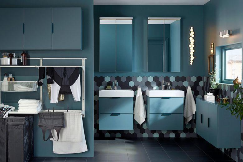 10 idee per arredare il bagno con IKEA