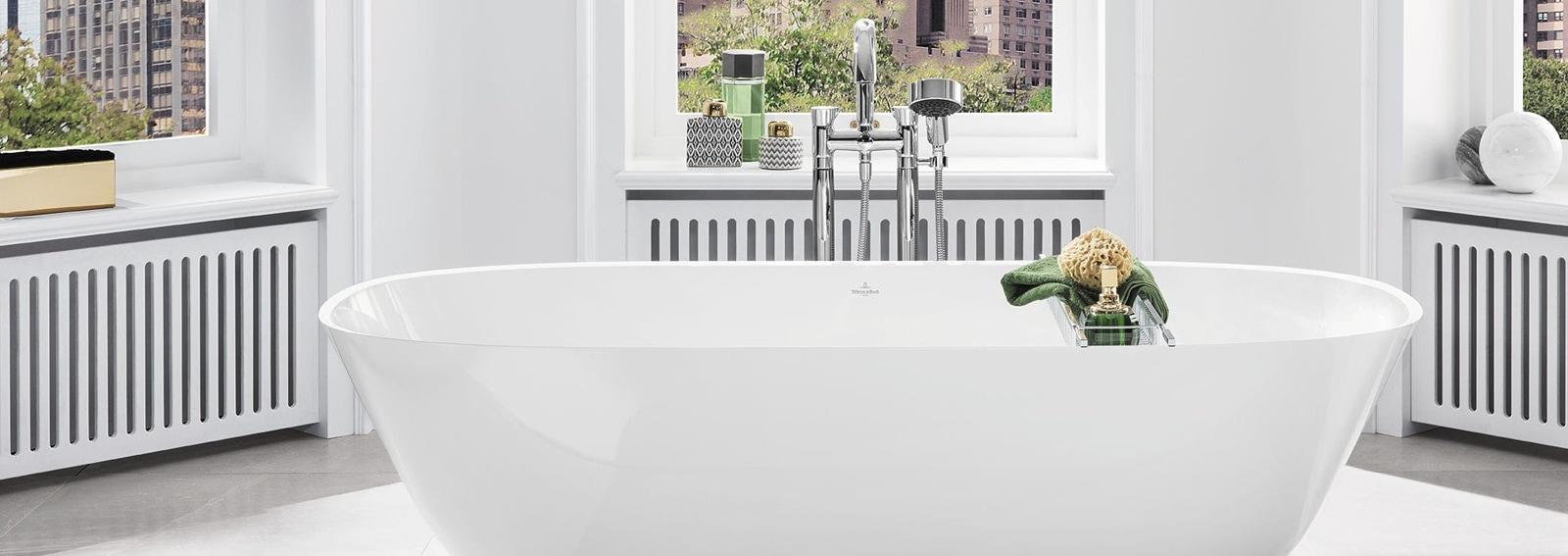 Vasca da bagno freestanding o da appoggio come scegliere quella giusta per te - Vasca da bagno da appoggio ...