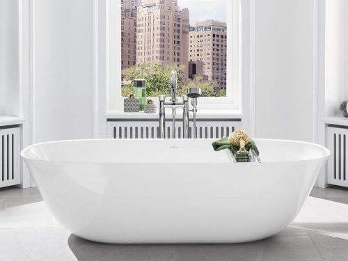 Vasca Da Bagno Freestanding Rettangolare : Vasca da bagno freestanding o da appoggio: come scegliere quella