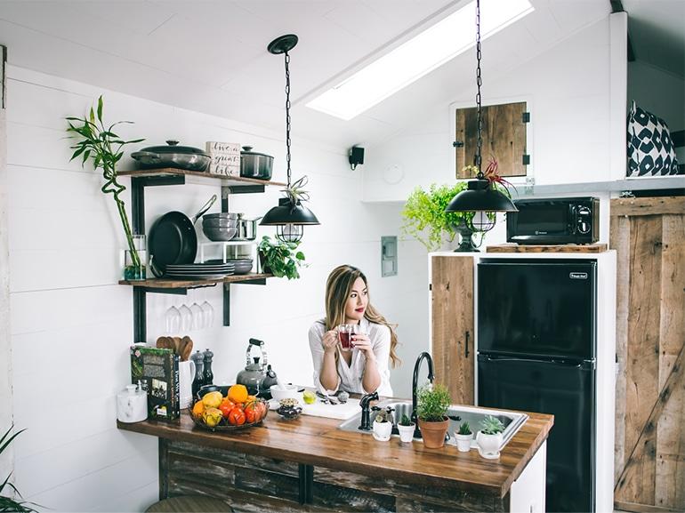 creare spazio casa piccola cover mobile