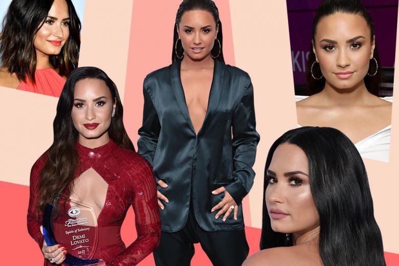 Demi Lovato beauty look: il meglio su capelli e make up della cantante
