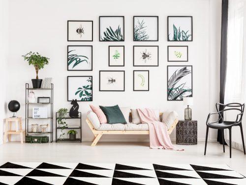 Idee Pareti Foto : Idee originali per decorare le pareti di un monolocale grazia