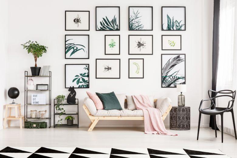 10 idee originali per decorare le pareti di un monolocale