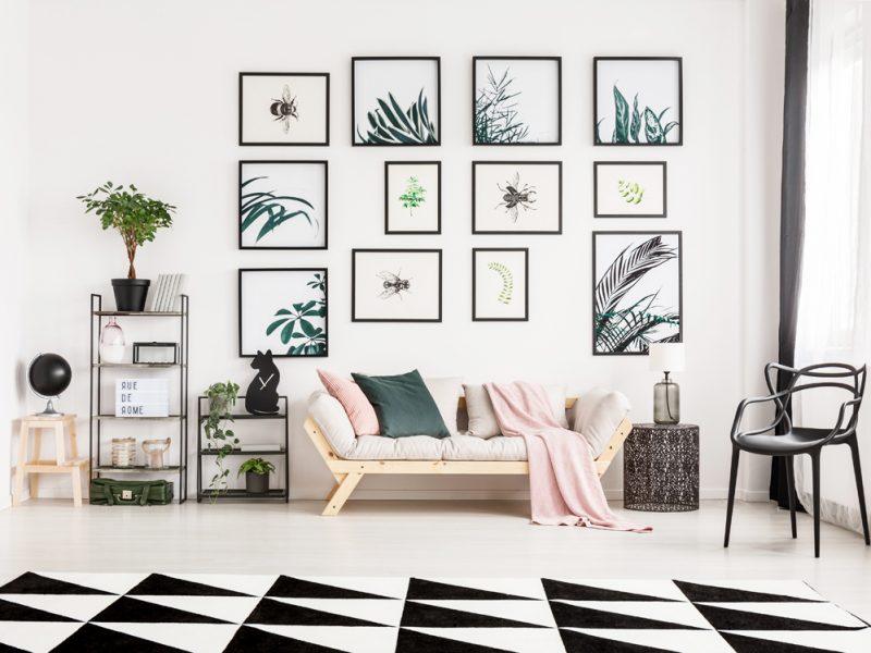 10 idee originali per decorare le pareti di un monolocale - Idee per decorare pareti di casa ...