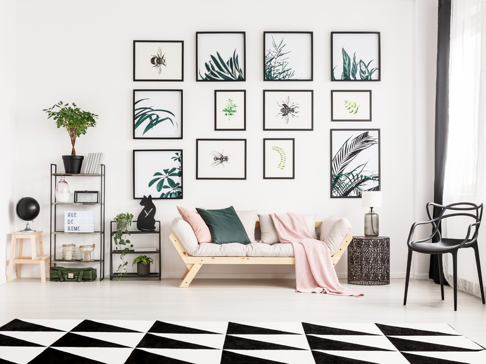 10 idee originali per decorare le pareti di un monolocale for Idee per decorare pareti