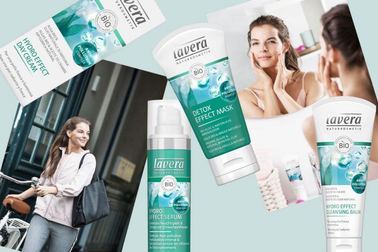 Proteggi la tua pelle dall'inquinamento con lavera Hydro Effect