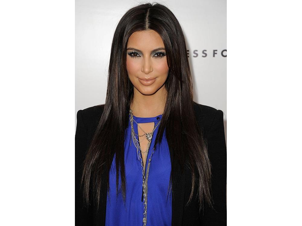 make up occhi blu kim kardashian (1)